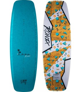 "Tabla Wakeboard Mujer Ronix Limelight - ATR ""SF"" - Anodized Turquoise 2017"