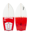 2021 Ronix Women's Flyweight - Bat Tail Thruster - Wakesurf