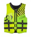 2018 Ronix Vision Boy's - CGA Life Vest - Lime / Yellow - Youth