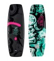 "2019 Ronix Quarter 'Til Midnight ""SF"" - Black / Pink / Azure Wakeboard"