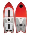 Tabla Wakesurf Ronix Koal w/ Technora - Powerfish+ - Metallic Orange / White 2019